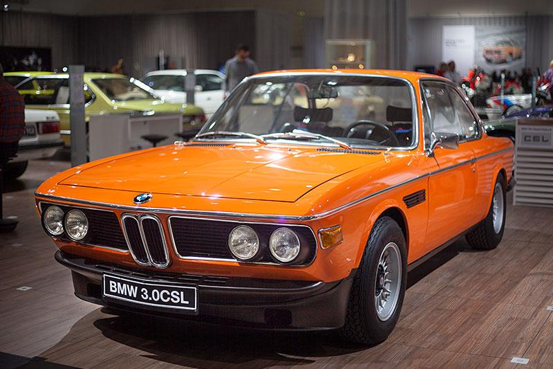 BMW 3.0 CSL, Baujahr 1972, ehemaliger Neupreis: 31.950 DM