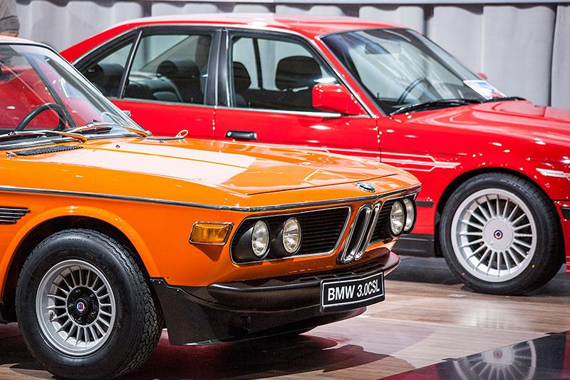 BMW 3.0 CSL mit einer Gewichtsersaprnis von bis zu 200 kg