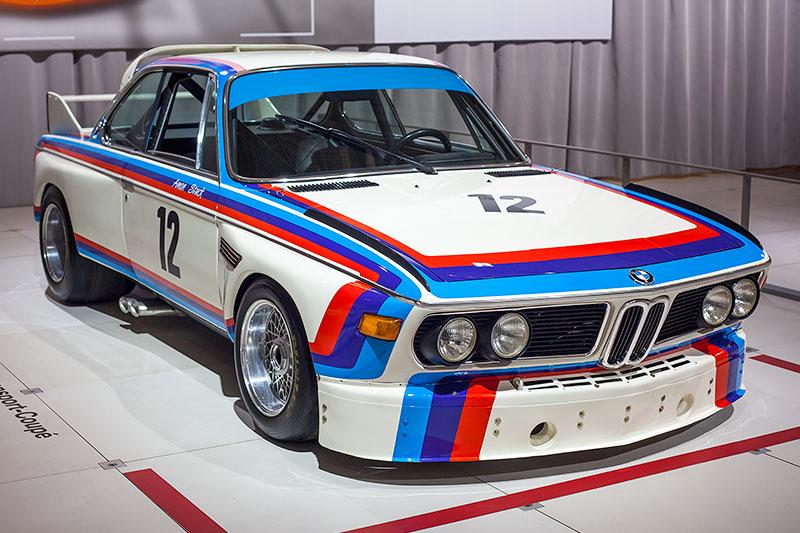 BMW 3.0 CSL Rennsport Coupé, vmax: 270 km/h