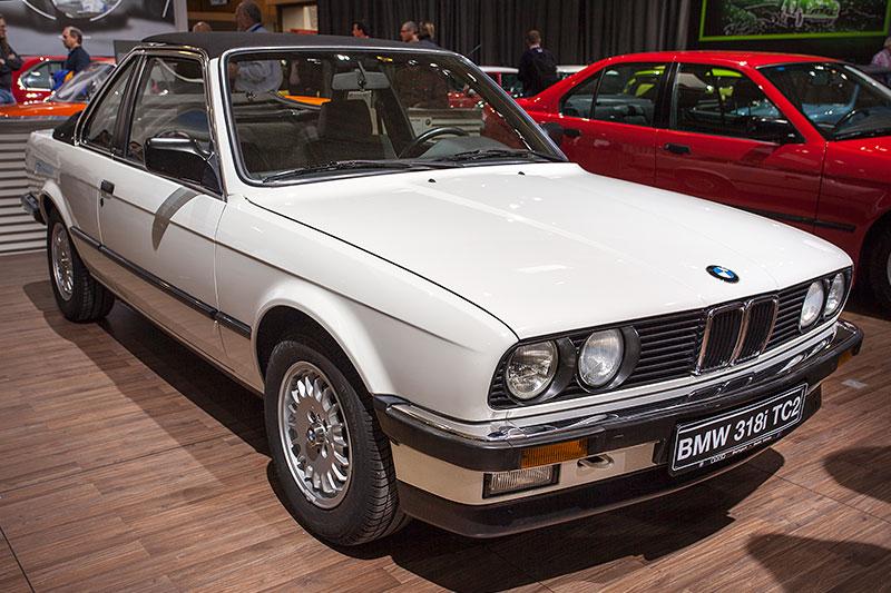BMW 318i Baur Topcabriolet, auf den Markt gekommen, als BMW noch kein 3er Cabrio anbot