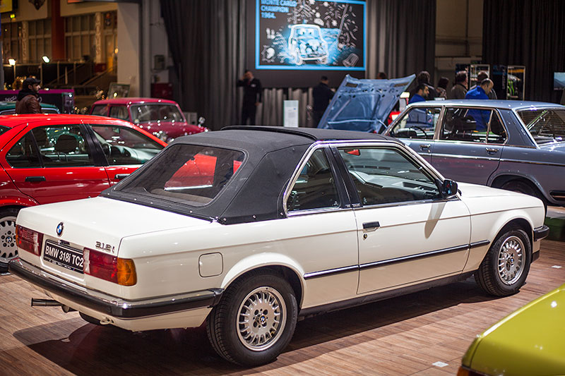 BMW 318i Baur Topcabriolet, Baujahr 1986, ehemaliger Neupreis: 33.070 DM