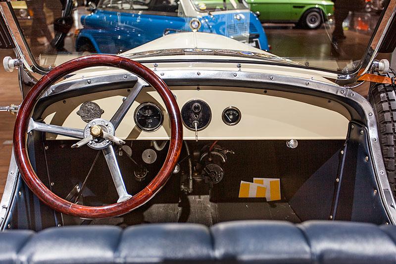 BMW 3/15 PS DA 3 Typ Wartburg, Cockpit