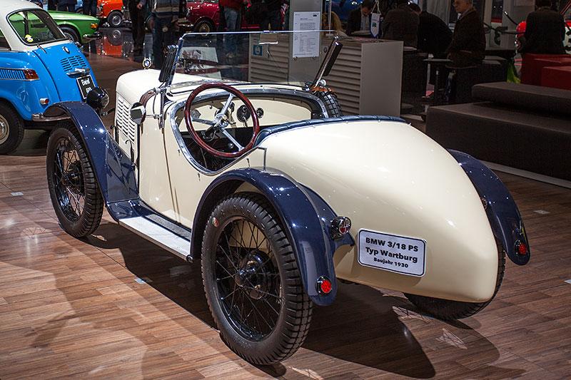 BMW 3/15 PS DA 3 Typ Wartburg, mit 4-Zylinder Reihenmotor, 18 PS bei 3.500 U/Min.