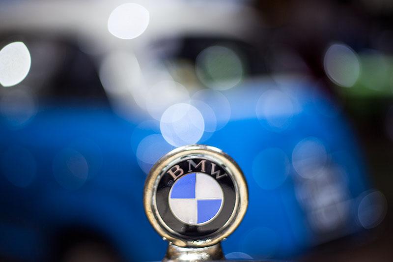 BMW 3/15 PS DA 3 Typ Wartburg, BMW Logo auf der Motorhaube