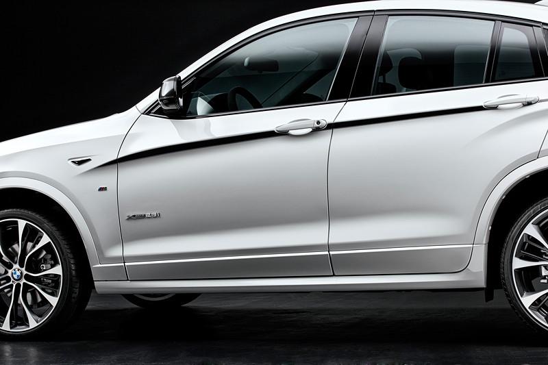 BMW X4 mit M Performance Parts