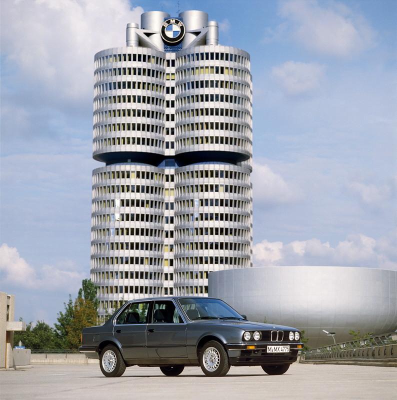 40 Jahre BMW 3er Reihe, Baureihe E30, Produktion 1983-1990