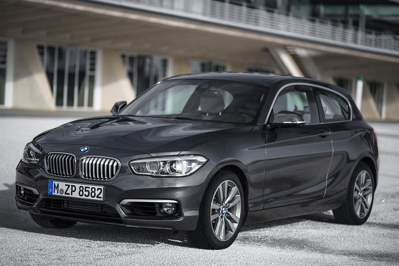 Foto: BMW 1er, 3-Türer, Facelift 2015, Modell Urban (F21 ...