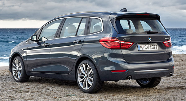 der neue bmw 2er gran tourer f46 ab juni 2015. Black Bedroom Furniture Sets. Home Design Ideas