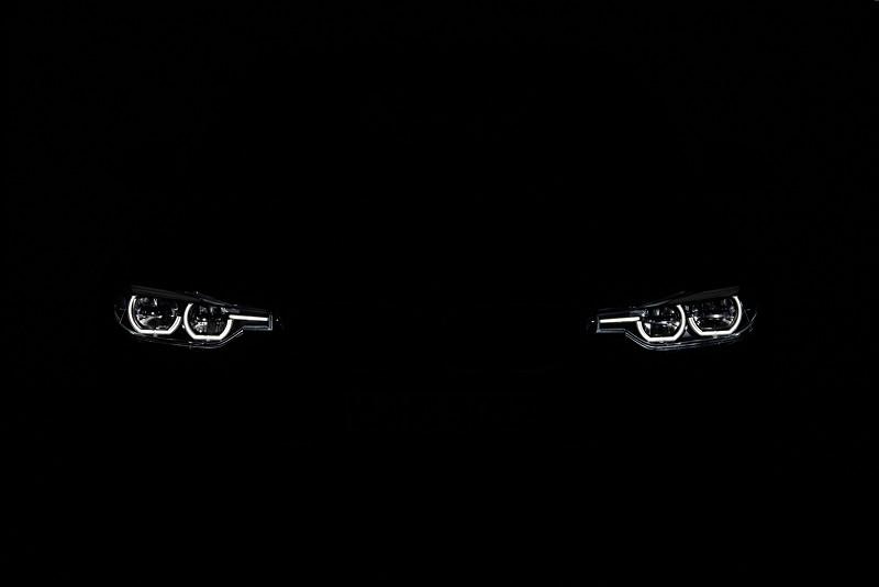 BMW 3er Reihe, Facelift 2015, Modell 340i, Sport Line, Standlicht vorne
