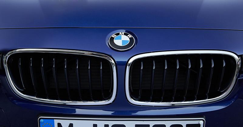 BMW 340i, Modell F30 LCi, BMW Niere