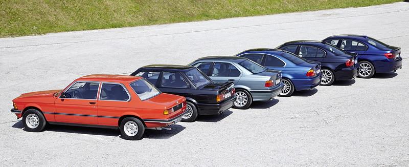 40 Jahre BMW 3er