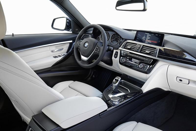 BMW 3er Reihe, Facelift 2015, Modell 340i, Sport Line, Interieur