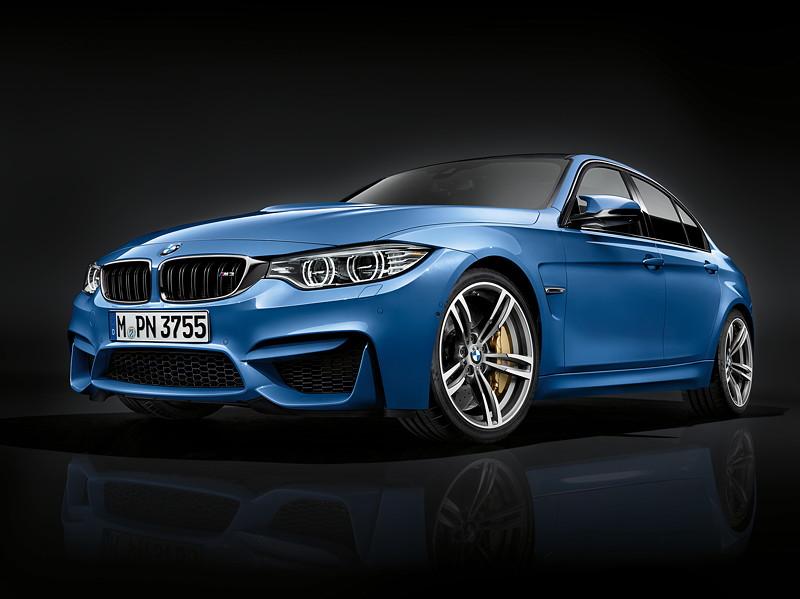 Der neue BMW M3 (Facelift 2015).