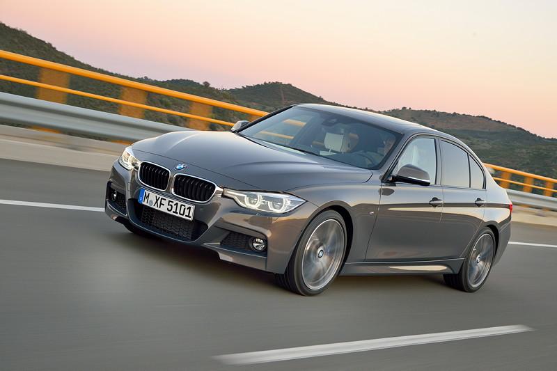 Die neue BMW 3er Limousine. Modell M Sport.