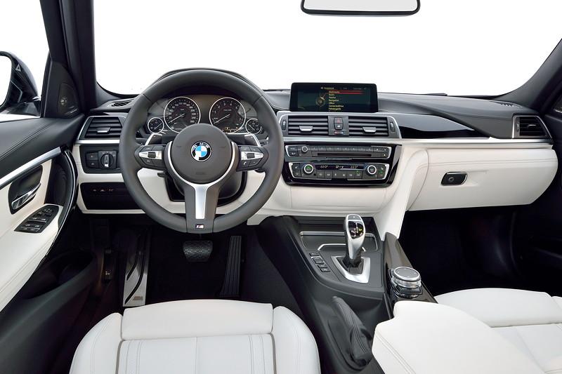 Die neue BMW 3er Limousine. Modell M Sport. Interieur.