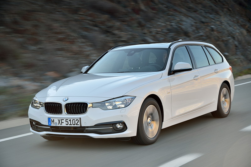 Der neue BMW 320d Touring EfficientDynamics Edition. Modell Sport Line.