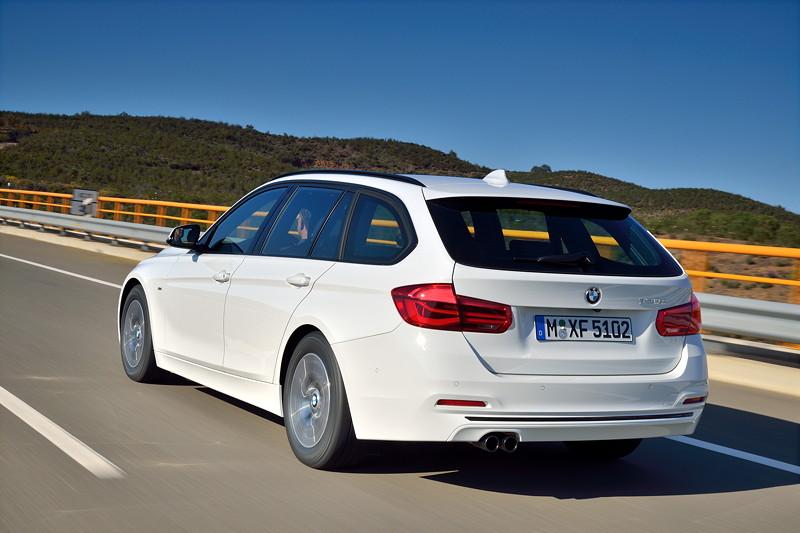 Der neue BMW 320d Touring EfficientDynamics Edition. Modell Sport Line.