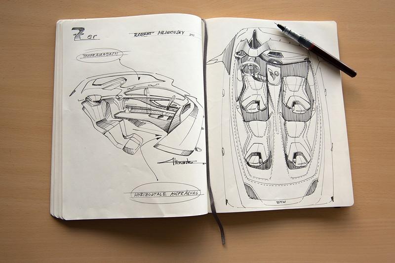 BMW 7er-Reihe, Skizzenbuch