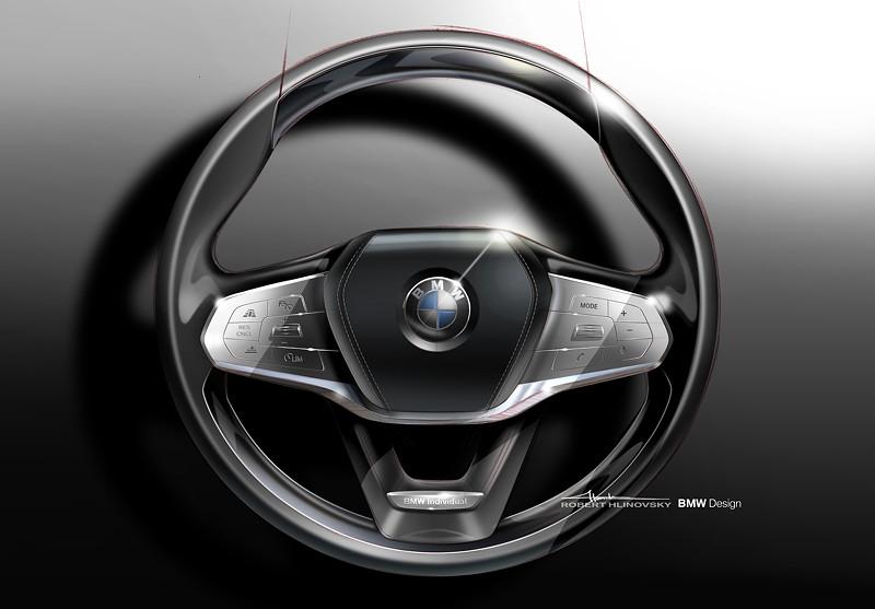 BMW 7er-Reihe, Designskizze