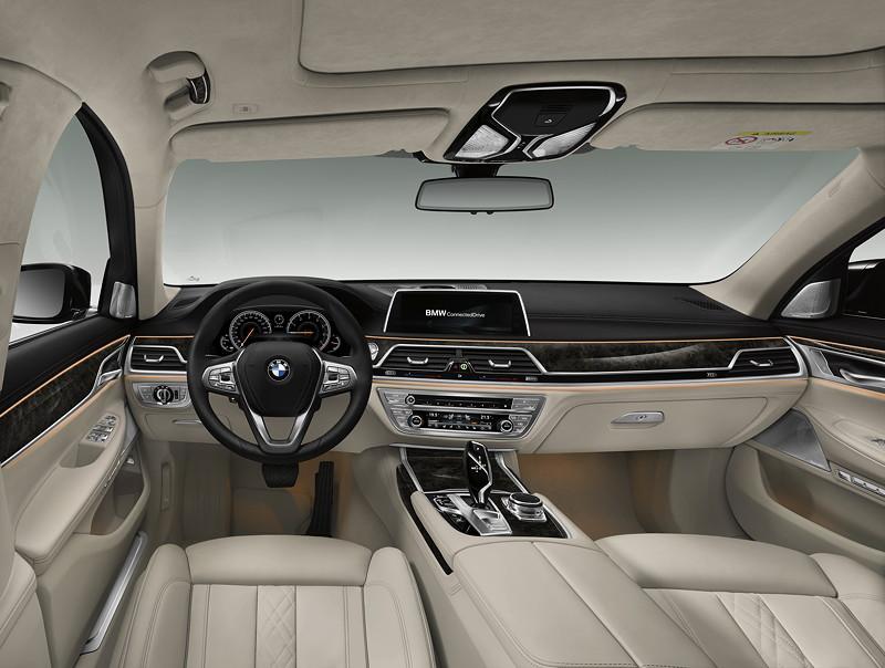 BMW 7er (G11/G12), Interieur, vorne