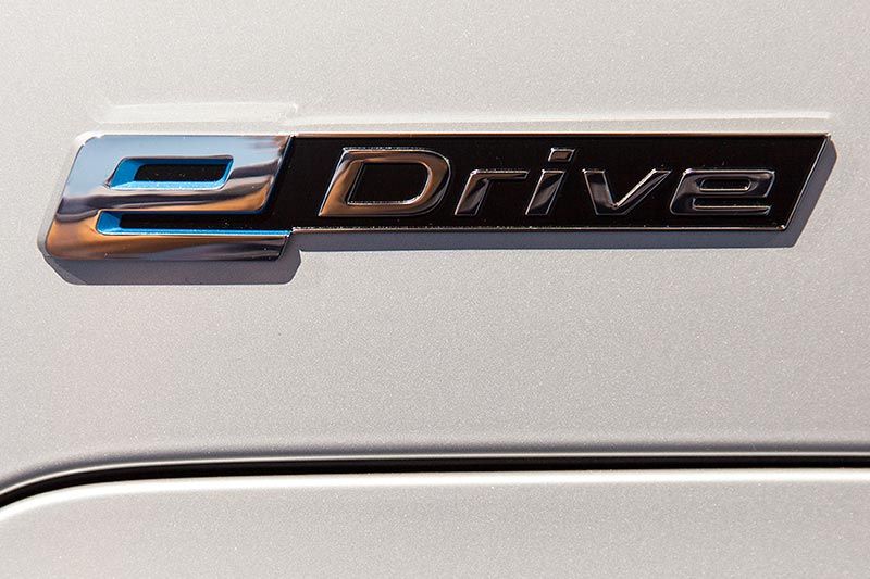 BMW 740Le mit PlugIn-Hybrid, e-Drive Schriftzug