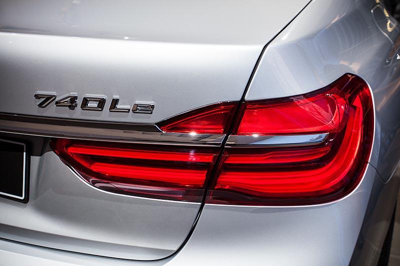 BMW 740Le, Typbezeichnung auf der Heckklappe