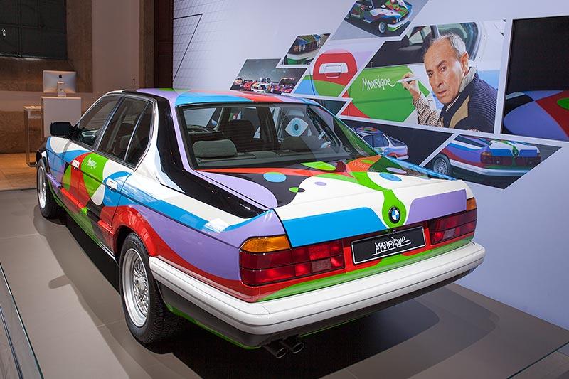 BMW 730i Art Car aus dem Jahr 1990 von César Manrique