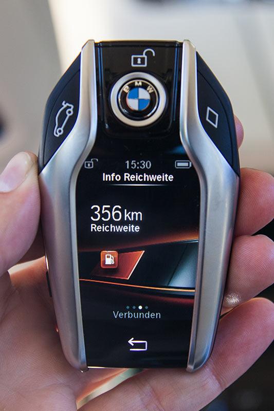 BMW Display-Key zum neuen 7er-BMW