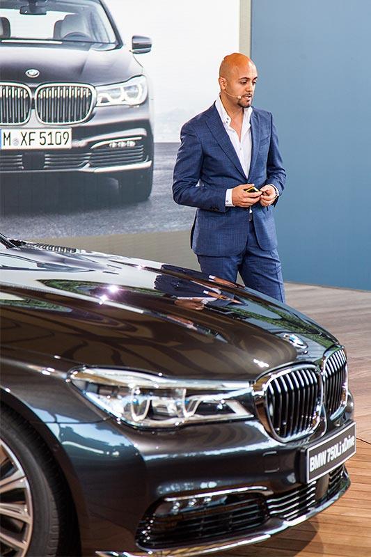 Nader Faghihzadeh, Exterieurdesigner BMW 7er