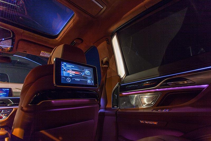 BMW 750Li xDrive Individual mit ambienter Beleuchtung