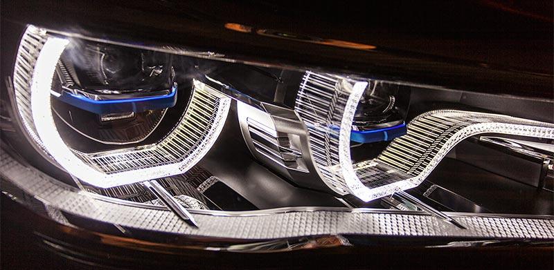BMW 750Li xDrive Individual, Scheinwerfer mit Laserlicht