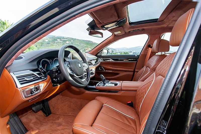 BMW 750Li xDrive Individual, Interieur vorne