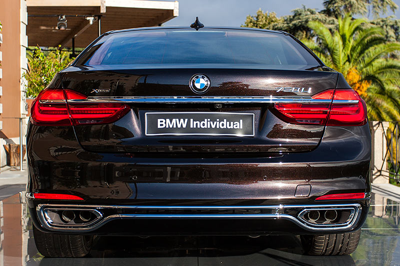 BMW 750Li xDrive Individual, Heckansicht