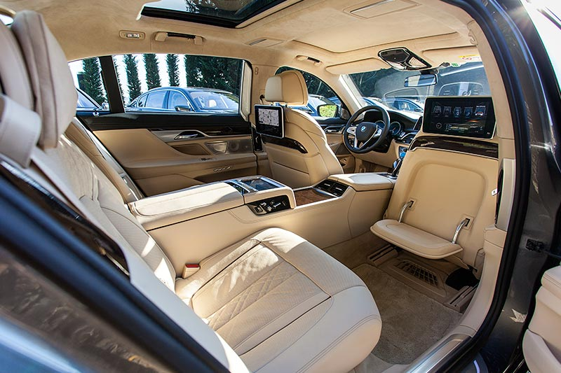 BMW 750Li xDrive mit Executive Lounge