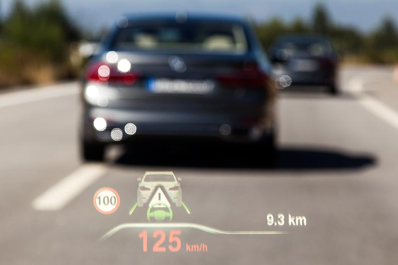 BMW 730d, Head-up-Display