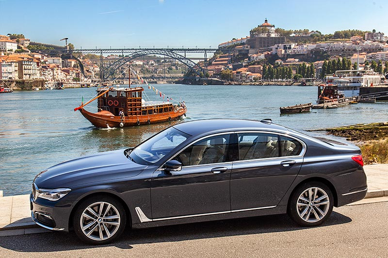 BMW 730d in Porto