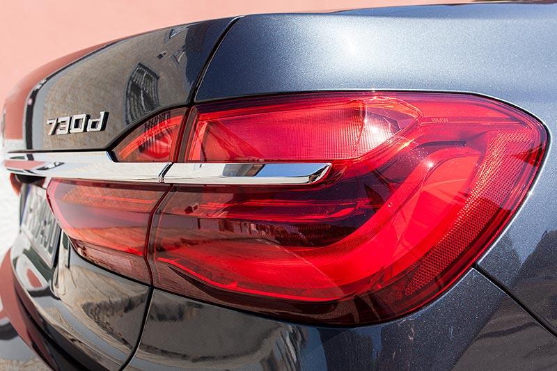 BMW 730d, Rücklicht