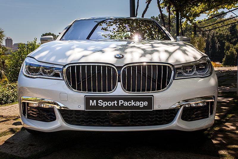 BMW 740i mit BMW M Sportpaket