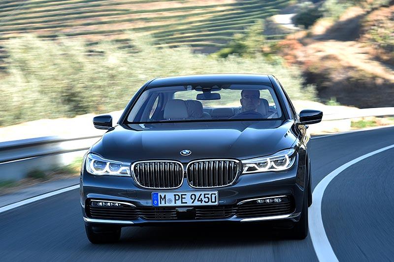 Testfahrt im BMW 730d (G11)