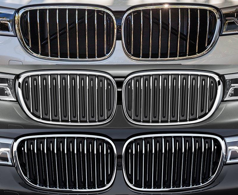 BMW 7er, G11/G12, Niere