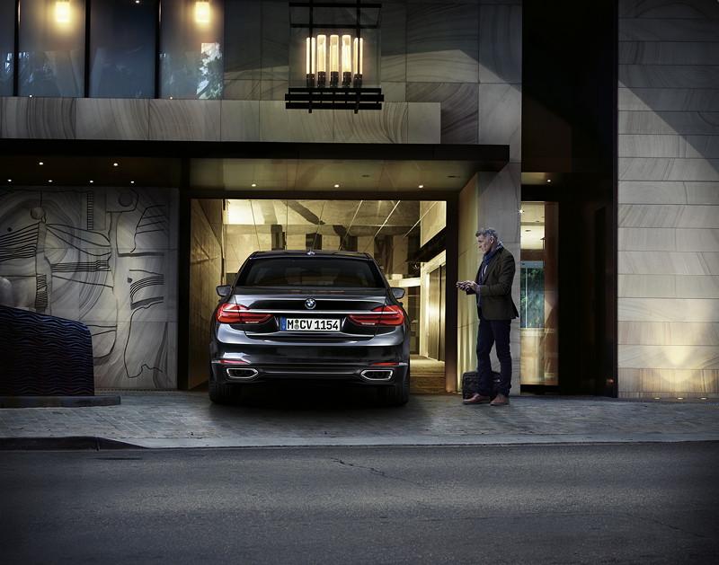 BMW 7er (G11/G12), automatisches Garagenparken
