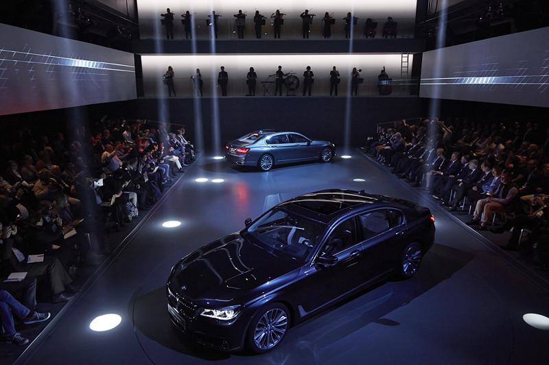 Premiere des neuen 7er-BMWs (G11/G12) am 10.06.2015 in der BMW Welt