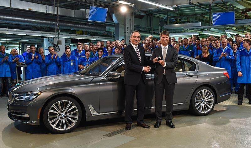 Produktionsstart der neuen BMW 7er Reihe im Werk Dingolfing