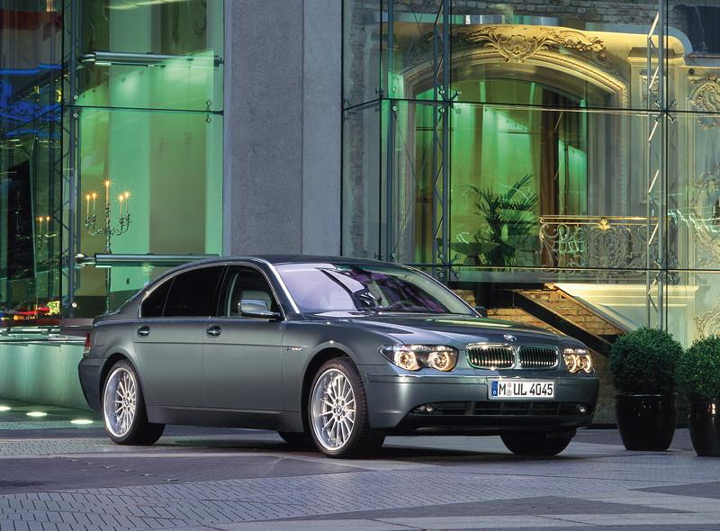 BMW 7er, 4. Generation: Modell E65/E66