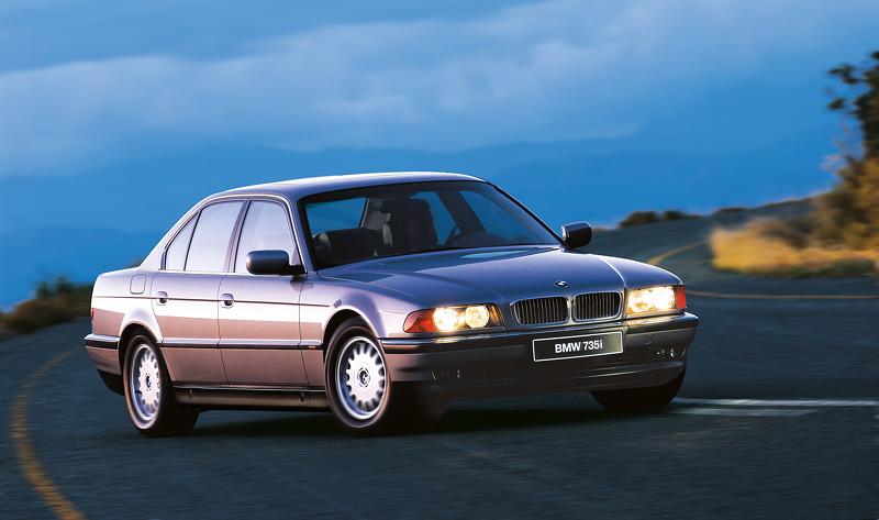 BMW 7er, 3. Generation: Modell E38