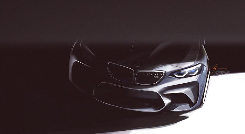 BMW M2, Designskizze