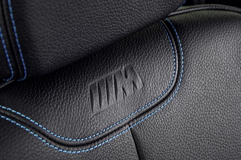 BMW M2, Interieur, M Logo im Sitz