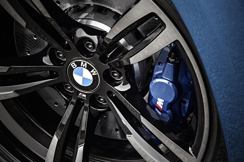 BMW M2, mit M Compound-Bremse, gelocht, innbelüftet