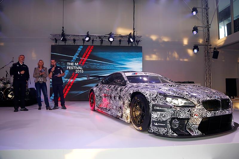 Nürburgring, 14. Mai 2015. 24h Rennen, BMW M6 GT3 Präsentation