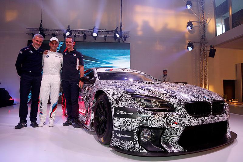 Nürburgring, 14. May 2015. 24h Rennen, BMW M6 GT3 Präsentation